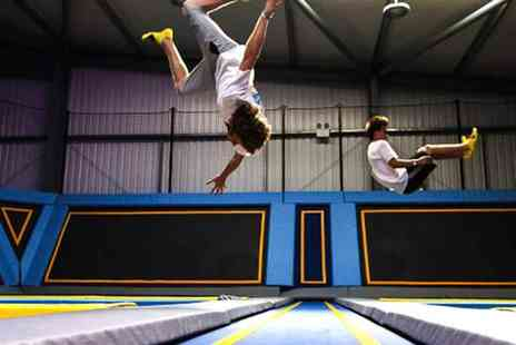 Oxygen Freejumping - The UKs Favourite Trampoline Parks Across the UK - Save 20%