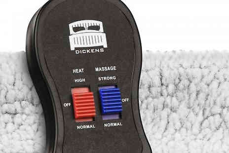 Fusion - Dickens Heated Foot Warmer And Massager Available Three Colours - Save 81%