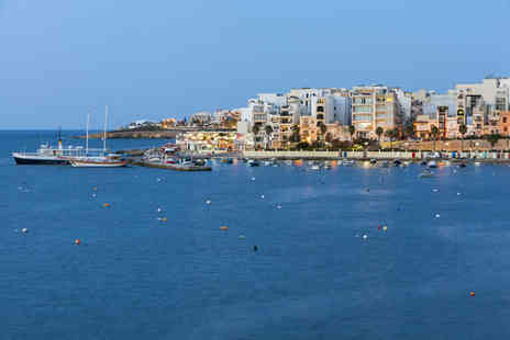 Super Escapes Travel - Two or three night all inclusive 4 Star Malta beach break with return flights - Save 30%