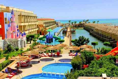 Super Escapes Travel - Four Star seven night all inclusive Hurghada, Egypt getaway with flights - Save 37%