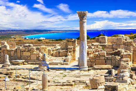 Super Escapes Travel - Three, Five or Seven night half board Cyprus holiday with return flights - Save 24%