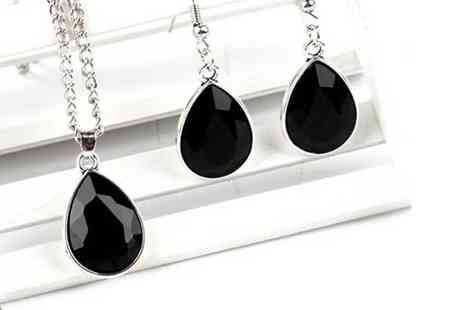 Evoked Design - Black vintage-style water drop set - Save 87%