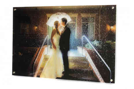 Your Perfect Canvas - Personalised acrylic glass print choose from four sizes - Save 80%