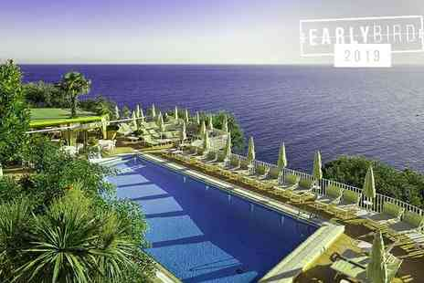 Hotel Le Querce Terme & Spa - Four Star Panoramic Views over the Gulf of Naples For Two - Save 75%
