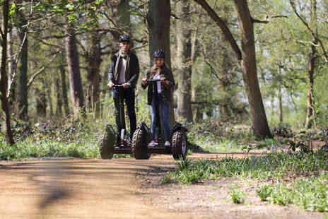 The Grove - Woodland Adventure Segway Experience with Lunch for Two - Save 0%