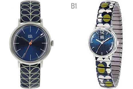 Brand Logic Europe - Ladies Orla Kiely Watches Choose from 14 Models - Save 65%