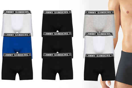 Jimmy Sanders - Three pack of mens boxers - Save 0%