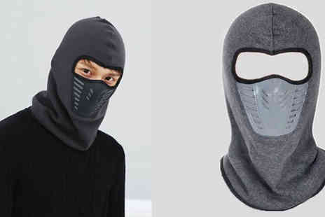 Snap One Up - Full Head And Neck Fleeced Balaclava Choose From 8 Colours - Save 79%