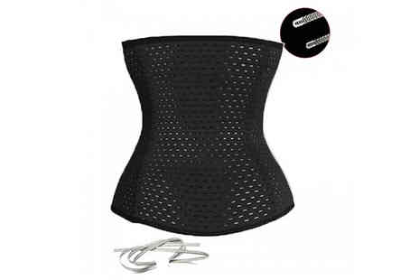 Snap One Up - Hourglass Waist Trainer Avilable in 2 Colours - Save 85%
