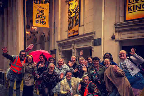 Silent Disco Walking Tours - West End musical theatre themed silent disco walking tour for two - Save 53%