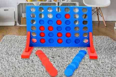 Who Needs Shops - Giant foam connect 4 game - Save 75%