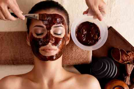 Carolines nails and beauty - One Hour of Chocolate Facial Treatment with Hot Stone Face Massage - Save 62%