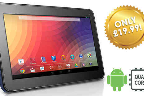 JAOYEH IRELAND - 7 Inch SmartPad Android 4.4 Quad Core Tablet Optional 32GB SD Card - Save 77%