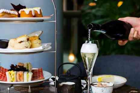 Plate Restaurant & Bar - Afternoon tea & bubbly for 2 - Save 58%