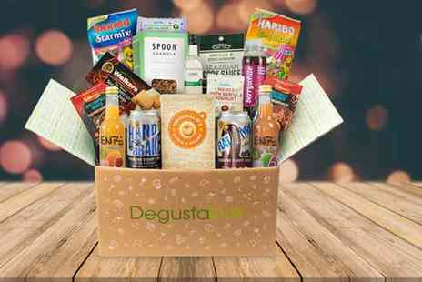 DegustaBox - Pay monthly Degusta Box subscription with automatic renewal plus Delivery is Included - Save 38%