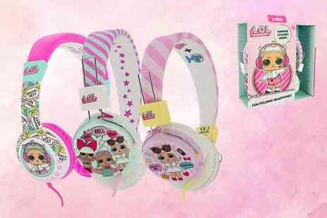 Dream Price Direct - Pair of LOL Surprise childrens headphones or pair of tween headphones, choose between three designs - Save 44%