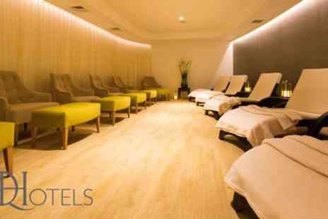 Q hotels - Spa Day with Drink and Pastry for Two - Save 67%