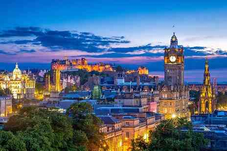 Mercure Edinburgh Princes Street - Overnight stay for two people with a bottle of wine on arrival, £22 per person dining credit, breakfast and late checkout by 12pm - Save 49%
