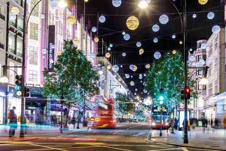 Golden Tours - Christmas lights London by night tour from Golden Tours - Save 40%