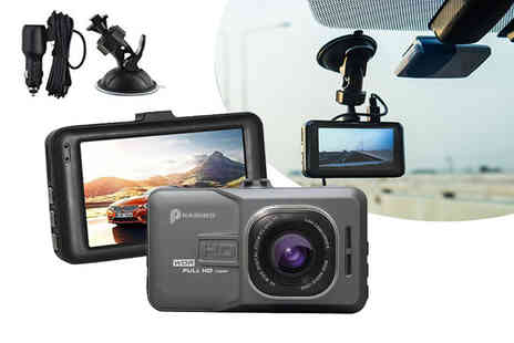 Charles Oscar - HD dash accident cam or HD dash cam and 32GB SD card - Save 87%