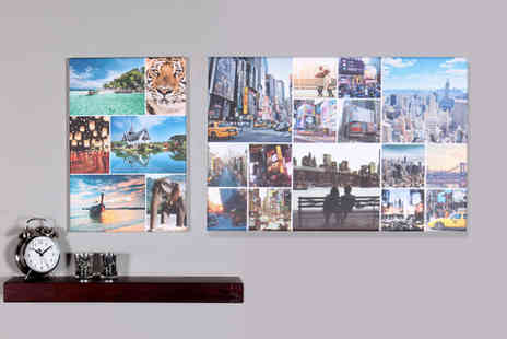 Your Perfect Canvas - A2 canvas collage or A1 canvas - Save 84%