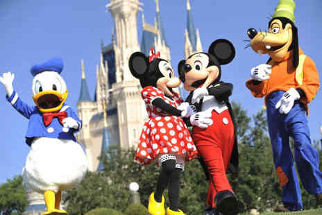 Crystal Travel - Two or three night Disneyland Paris stay with a 1 day 2 park ticket and return flights - Save 42%