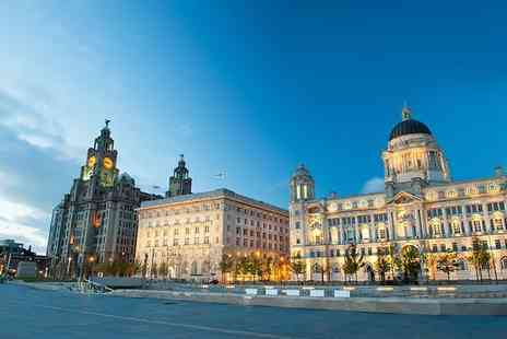 OMGhotels - Four Star One or two night Liverpool stay with three course dining at Jamies Italian and  breakfast - Save 0%
