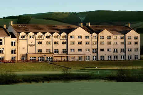 Macdonald Cardrona Hotel - One or two night stay with breakfast, leisure access and bottle of prosecco or three course dinner instead of prosecco - Save 61%