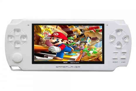 HXT Goods - X6 Handheld Video Game Console with 100 Built in Games Choose Three Colours - Save 78%