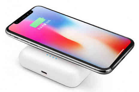 HXT Goods - Three In One Apple And Android Compatible Earbuds Powerbank And  Wireless Charger - Save 72%