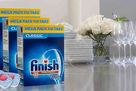 JAOYEH IRELAND - Finish Powerball Dishwasher Tablets Choose 110, 220, 330 or 440 - Save 70%