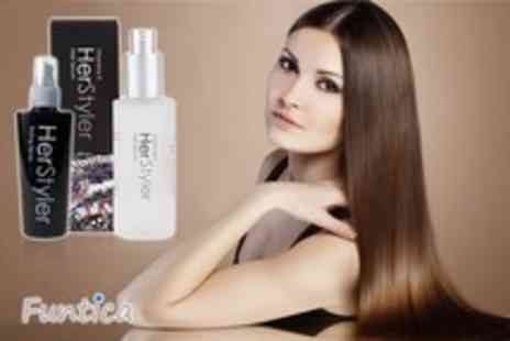 Funtica - HerStyler hair serum and styling spray - Save 61%