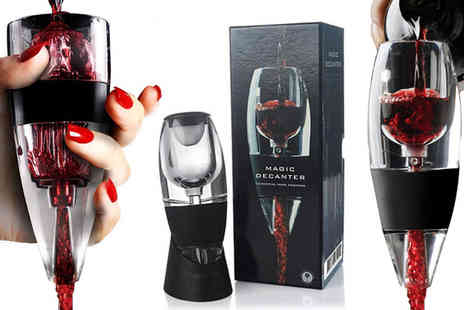 ViVo Technologies - instant red wine aerator - Save 70%