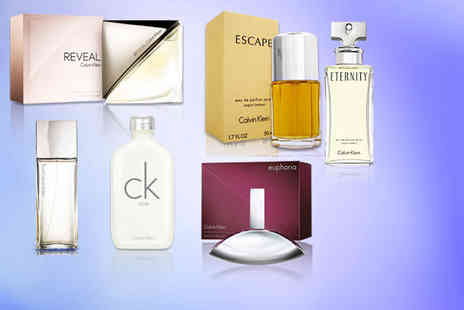 Deals Direct - Calvin Klein fragrance choose from six scents - Save 42%