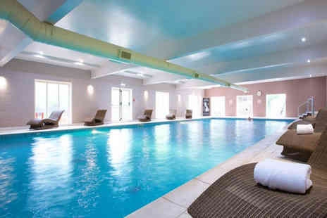 Hallmark Hotel Manchester - Four hours of spa access and afternoon tea for two people with a £10 treatment voucher each, or spa day and afternoon tea for two people with a choice of 25 minute treatment each - save up to 54% - Save 54%
