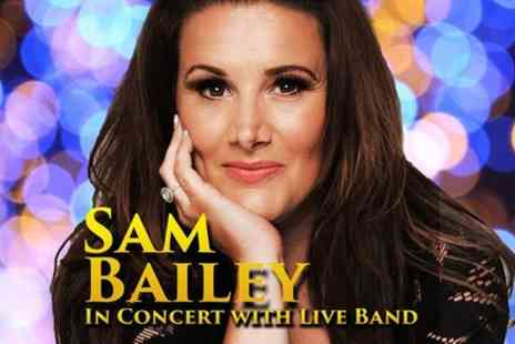 VIVA Blackpool - Sam Bailey, In concert with her Live Band - Save 0%