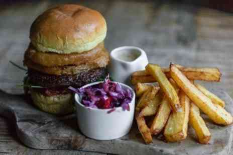 The Hole in The Wall - Choice of Craft Burger with Optional Craft Beer for Two or Four - Save 55%