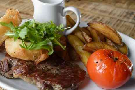 The Hole in The Wall - 10oz. Rib Eye Meal for Two or Four - Save 53%