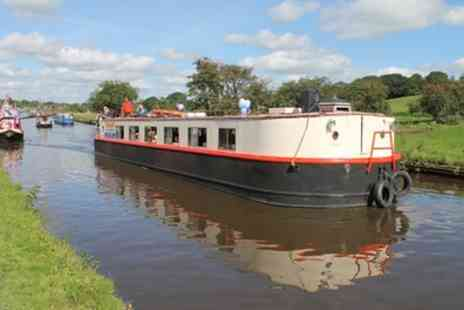 Boatel Party Cruises - Canal Cruise with Lunch or Three Course Dinner for Two or Four - Save 42%