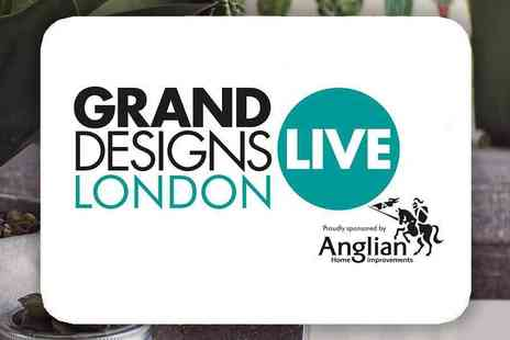 Media 10 - Grand Designs Live 2019 at the ExCeL, Inspiring Ideas on a Grand Scale, 2 Tickets - Save 55%