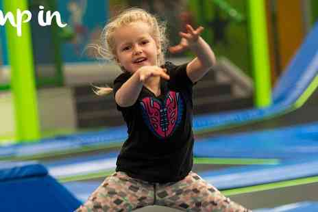 Gojumpin - Go Jump In, Fun Just Hit a New High, 1 hour, 1.5 hour and 2 hour open jump sessions - Save 20%