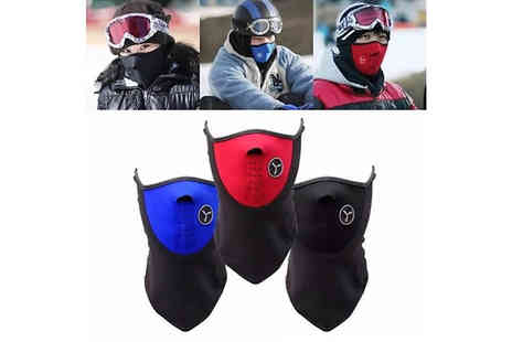 Snap One Up - Winter Sports Face Mask Choose from 3 Colours - Save 78%