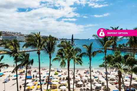 Crystal Travel - Four or Seven night half board Gran Canaria holiday with return flights - Save 39%