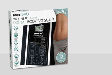 ViVo Technologies - Digital body fat analyser scale - Save 60%