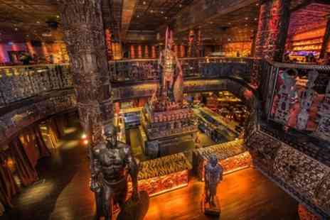 Shaka Zulu - Three Course Meal with Sparkling Cocktail for Up to Six - Save 56%