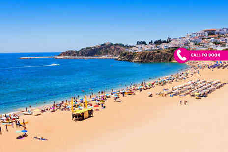 Book It Now Holidays - Three, five or seven night all inclusive Algarve getaway with flights - Save 38%