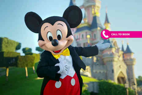 Book It Now Holidays - Two night Disneyland Paris getaway with return flights - Save 41%