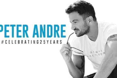 ATG Tickets - Peter Andre, Celebrating 25 Years Tour 2019 on 18 February 2019 to 9 March 2019 - Save 34%