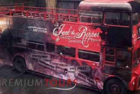 Premium Tours - Jack the Ripper, Haunted London and Sherlock Holmes Bus Tour - Save 53%