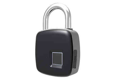 Maxwe - Smart Fingerprint Padlock - Save 75%